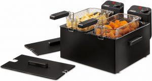 Princess Double Black Fryer dubbele friteuse